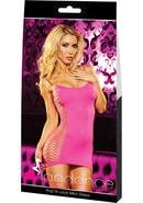 Pop `n Lock Mini Dress-pink