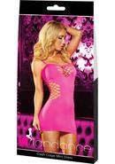Cash Cage Mini Dress-pink
