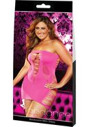 Backroom Mini Dress-pink-plus