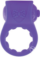Primo Tux Silicone Vibe Ring Waterproof Purple 6 Piece...