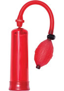 Ram Turbo Pump Penis Pump - Red