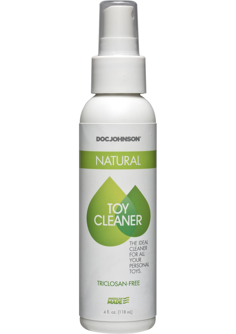 Doc Johnson Natural Toy Cleaner Triclosan Free Spray 4oz