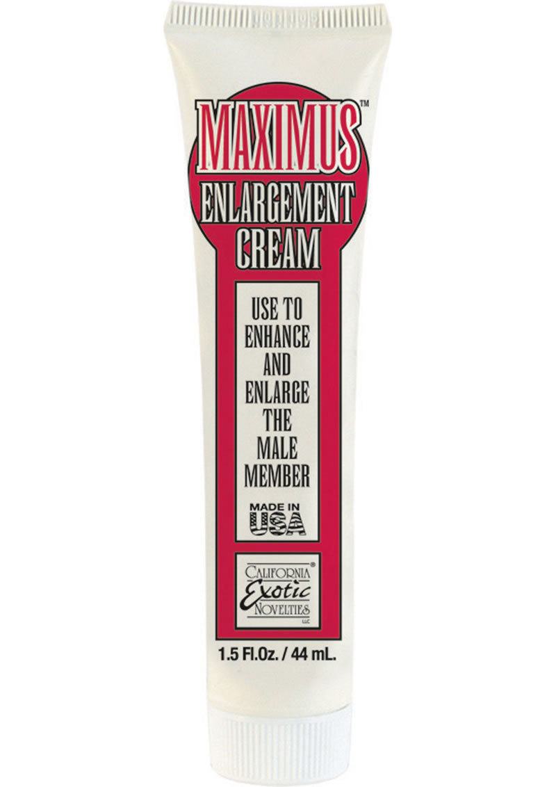 Maximus Enlargement Cream 1.5oz
