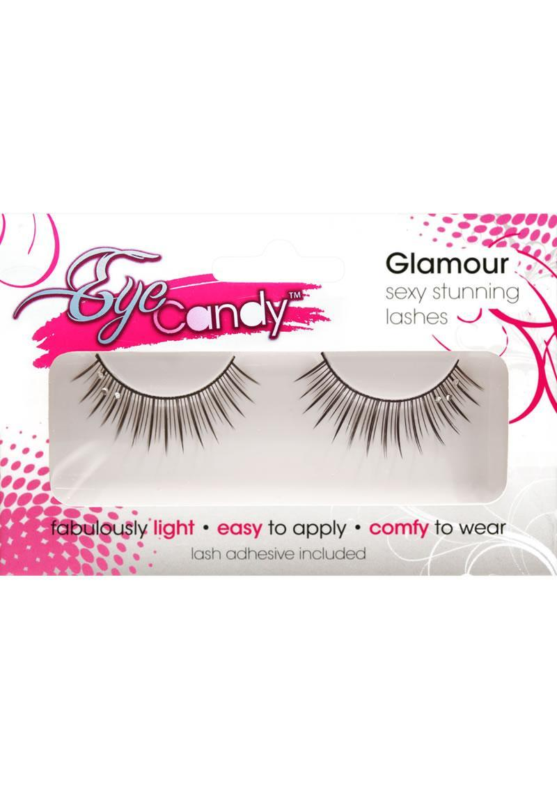 Rhine Stoned-volume Lashes With Crystals
