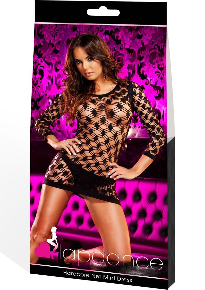 Hardcore Net Mini Dress (disc)