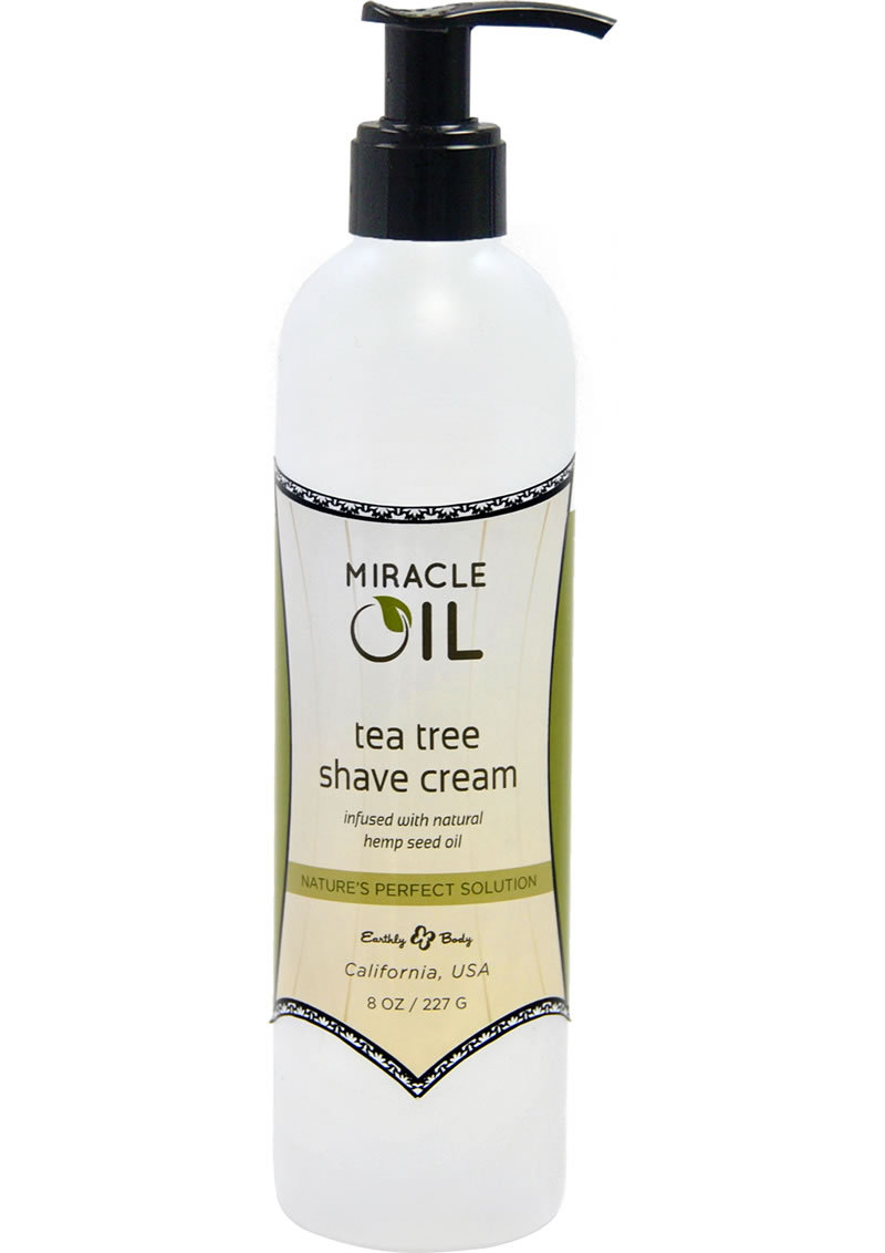Earthly Body Earthly Body Miracle Oil Tea Tree Shave Cream 8oz