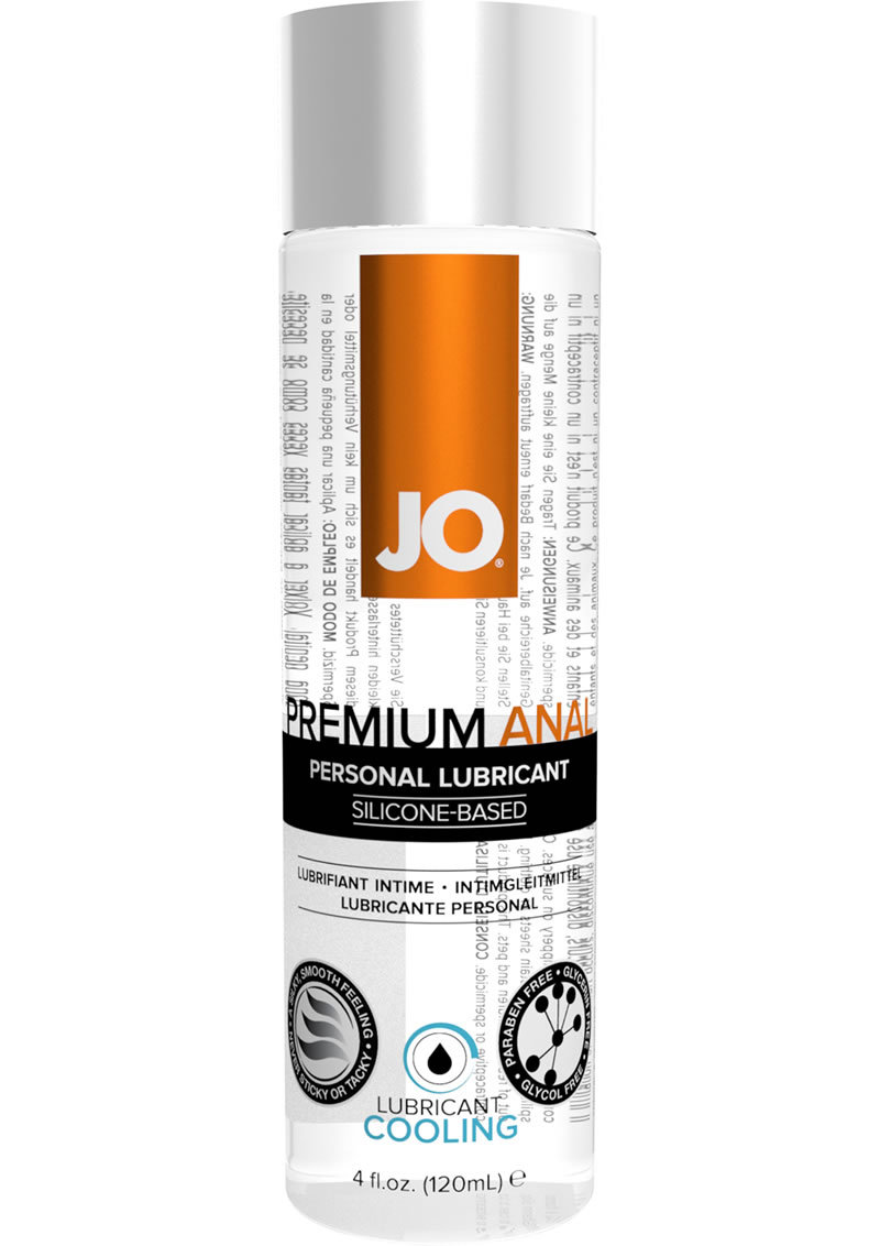 Jo Premium Anal Silicone Cooling Lubricant 4oz