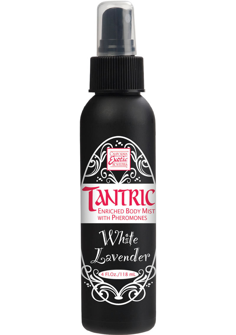 Tantric Enriched Body Mist With Pheremones White Lavender 4 Ounce