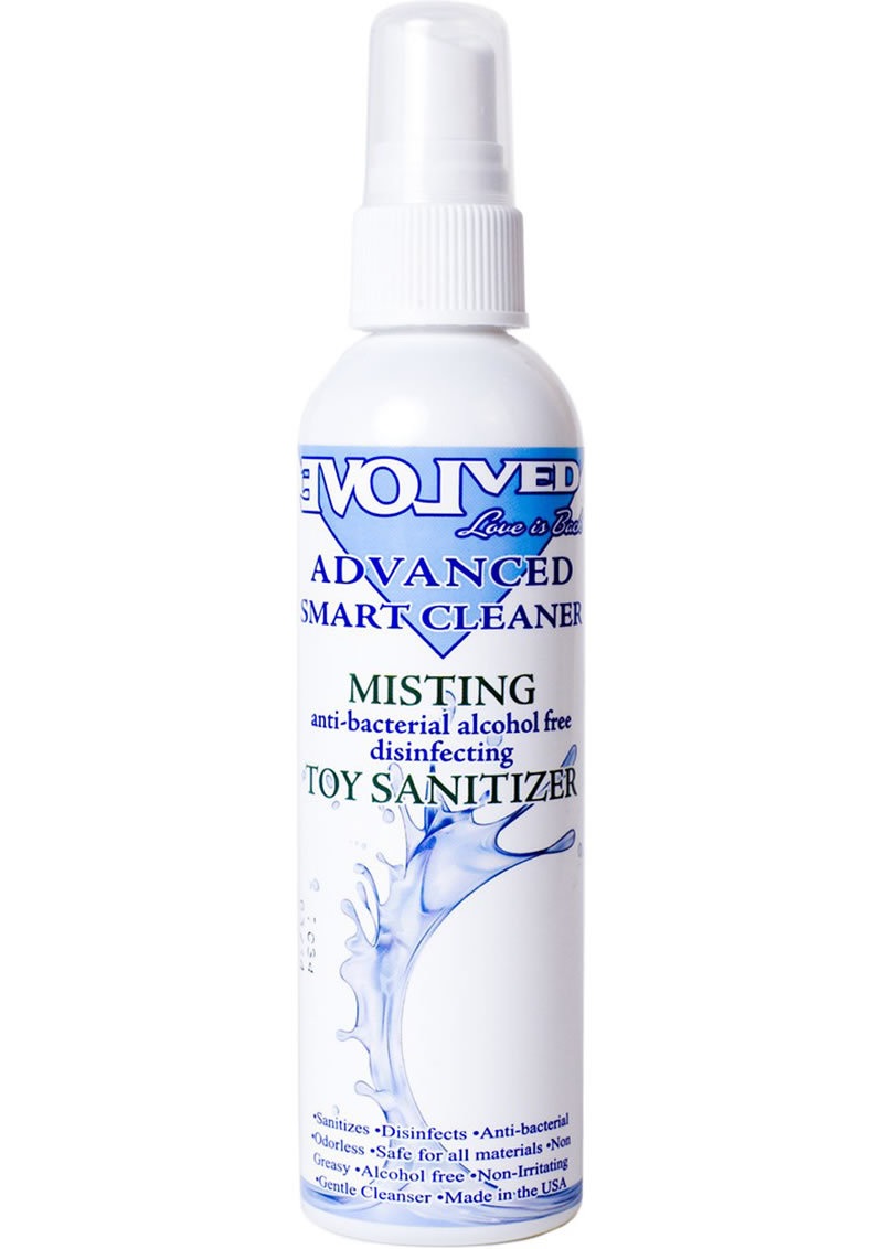 Smart Cleaner Misting Toy Sanitizer Spray 4oz