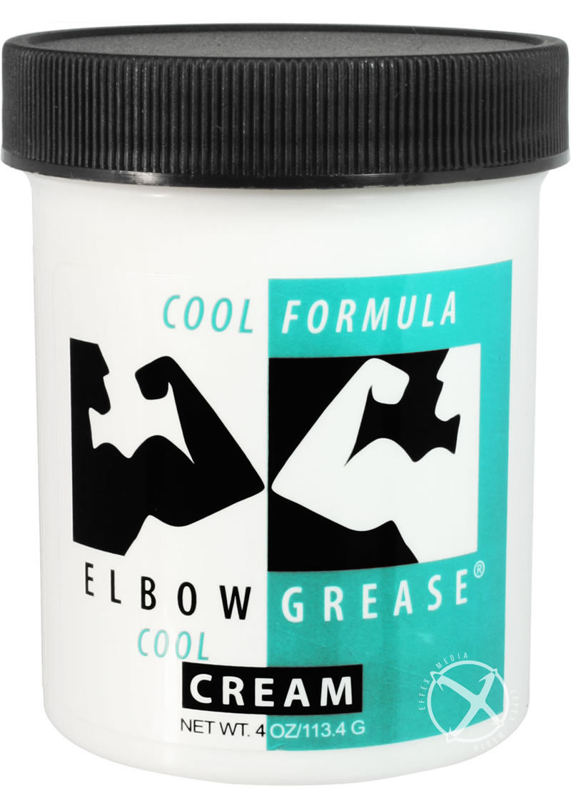 Elbow Grease Oil Cream Lubricante Cooling 4oz
