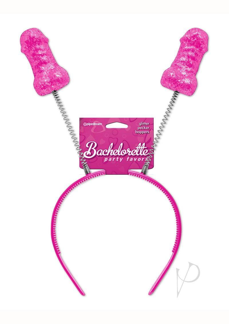 Bachelorette Party Favors Pecker Boppers - Pink/silver