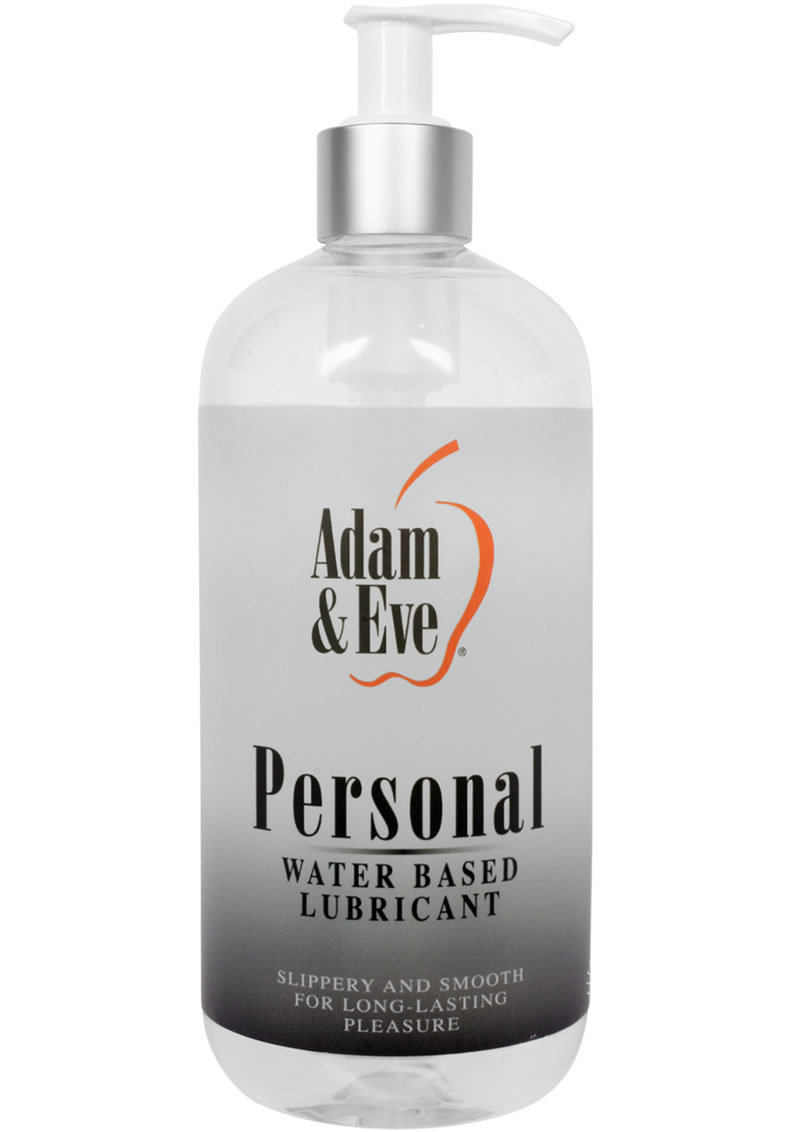 Adam And Eve Personal Water Based Lubricant 16oz