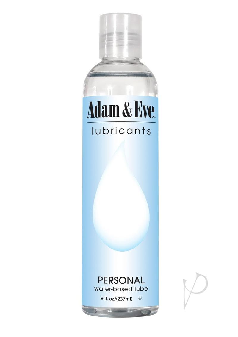 Adam And Eve Personal Water Based Lubricant 8oz