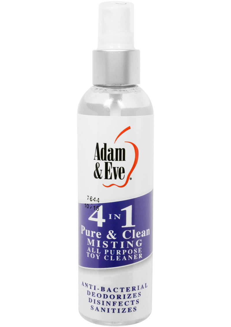 Adam And Eve 4 In 1 Pure And Clean Misting All Purpose Toy Cleaner 4oz