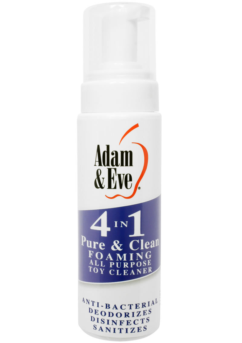 Adam And Eve 4 In 1 Pure And Clean Misting All Purpose Toy Cleaner 8 Oz