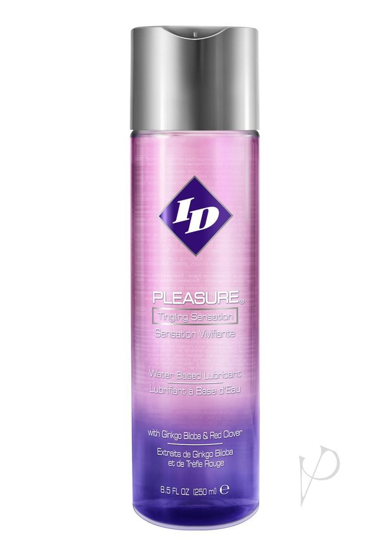 Id Pleasure Water Based Tingling Lubricant 8.5oz