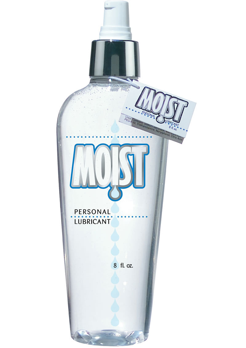 Moist Moist Body Lotion Water Based Lubricant 8 Oz.