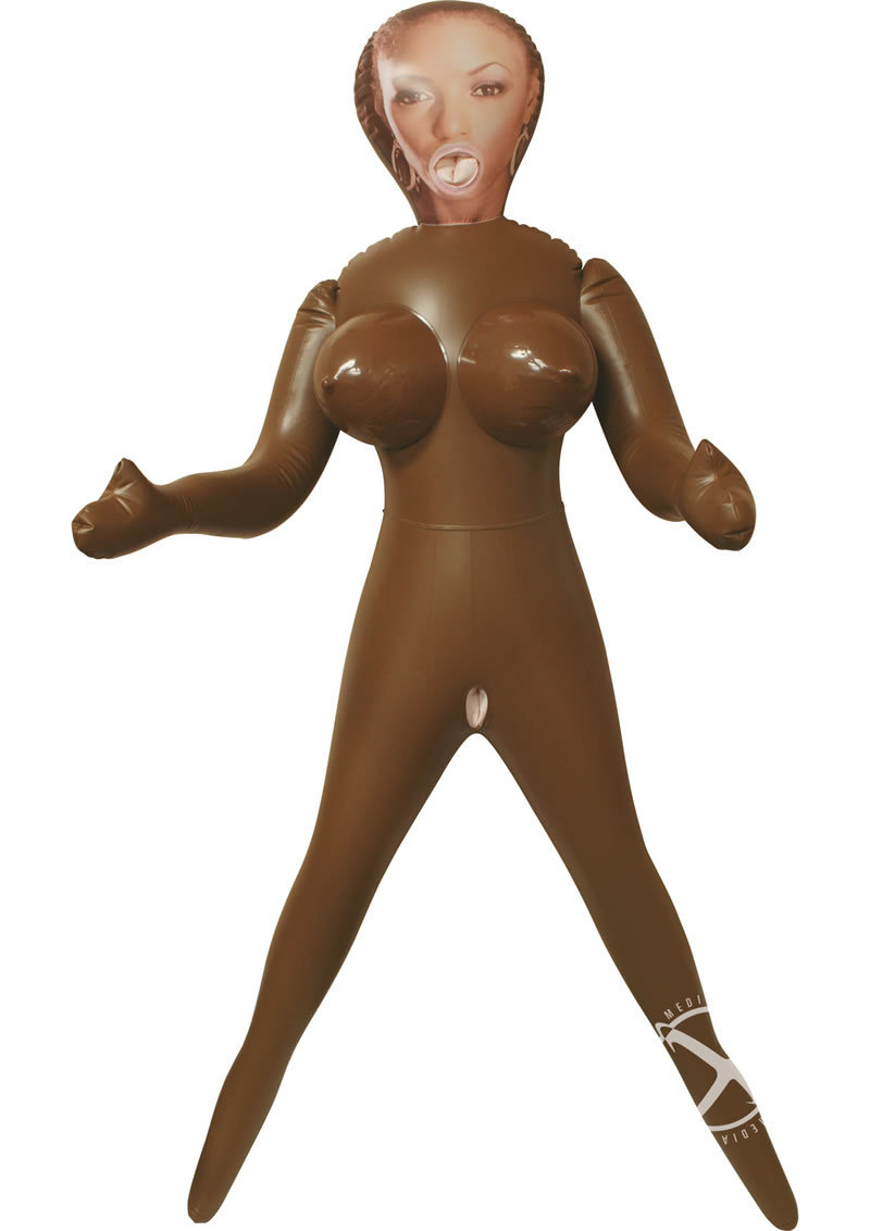 Vivid Raw Chocolate Sugar Love Doll - Chocolate