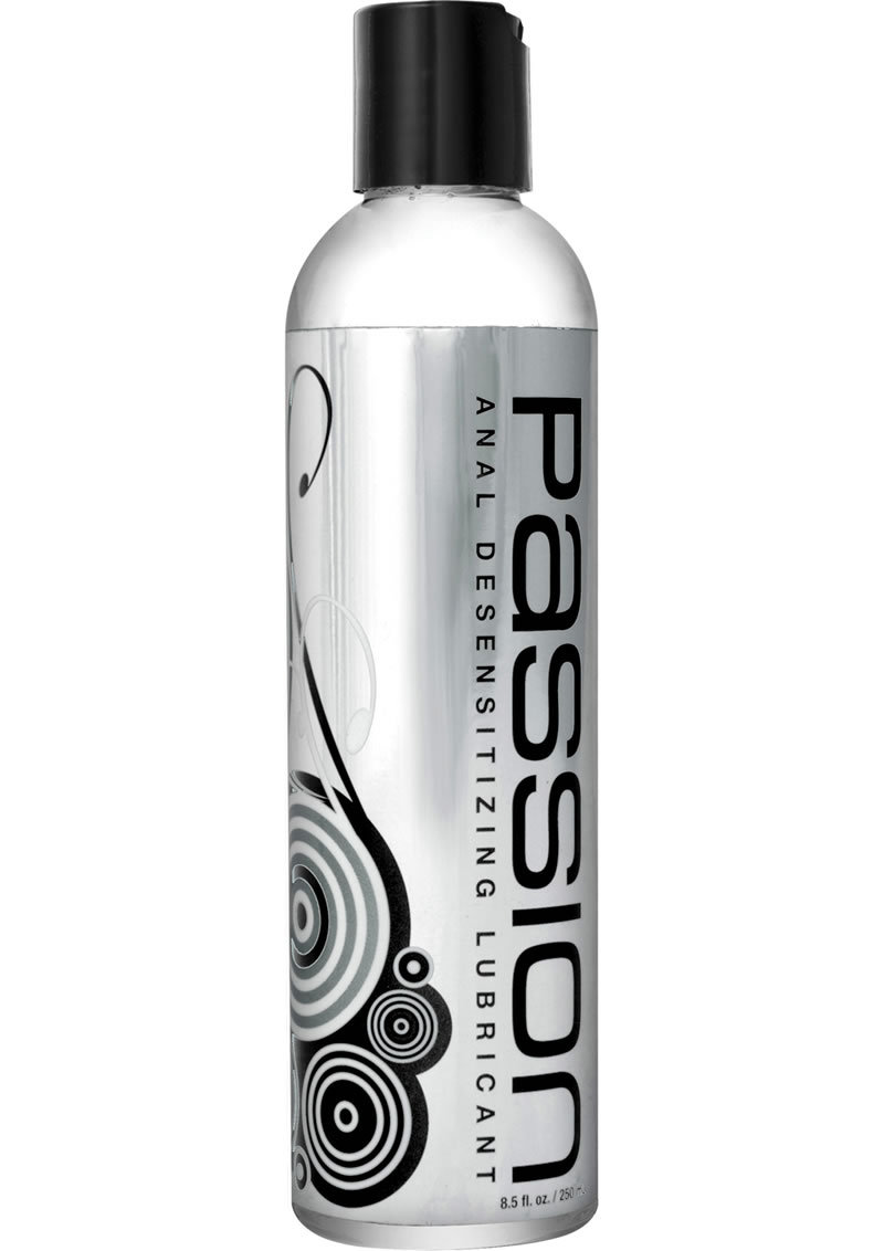 Passion Anal Desensitizing Water Based Lubricant With Lidocaine 8.5oz