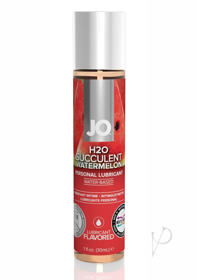 Jo H2o Water Based Flavored Lubricant Succulent Watermelon 1 Ounce