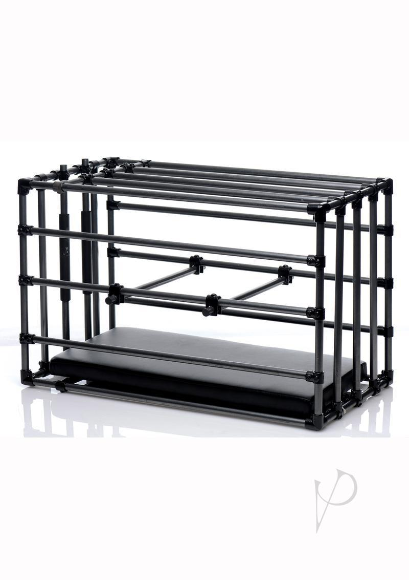 Master Series Kennel Cage With Padded Board - Black