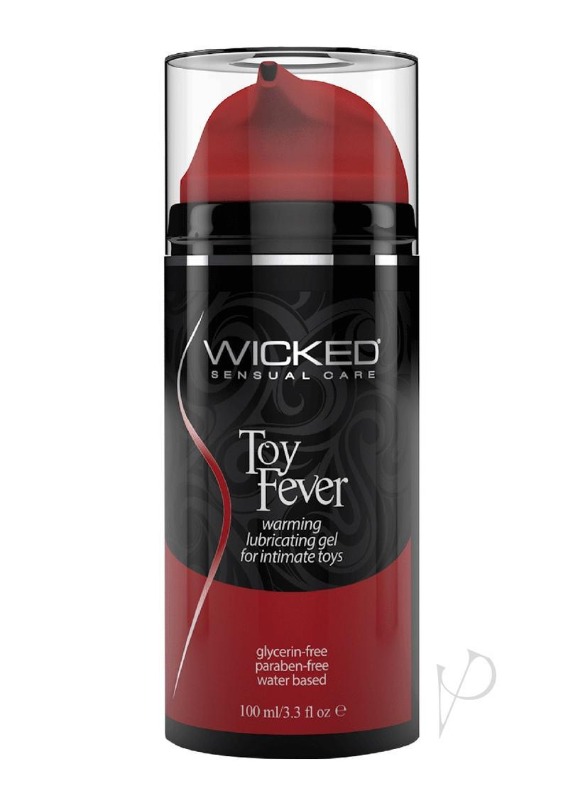 Wicked Toy Fever Warming Water Based Gel Lubricant 3.3oz