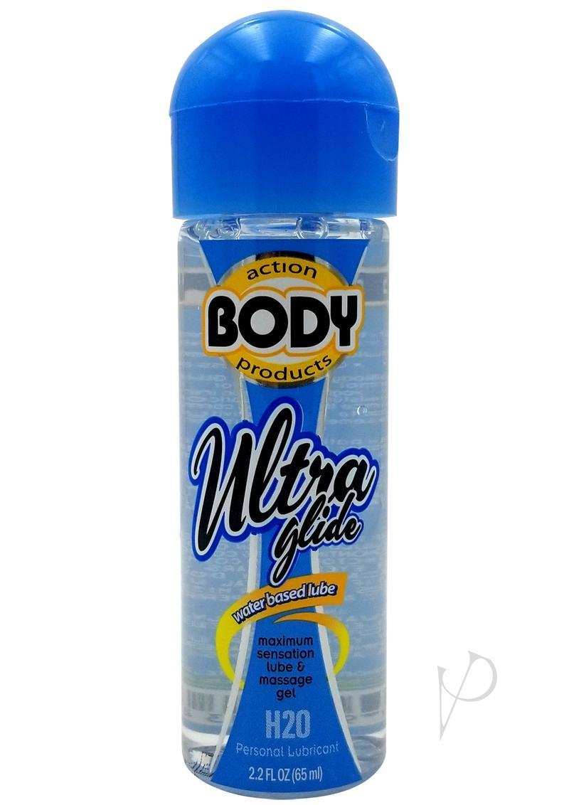 Body Action Ultra Glide Water Based Lubricant 2.2 Oz