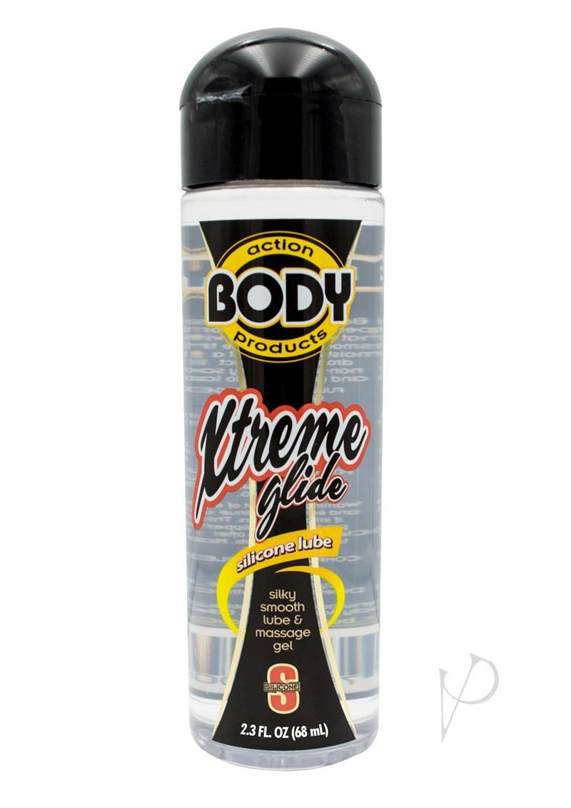 Body Action Xtreme Glide Silicone Lubricant 2.3 Oz