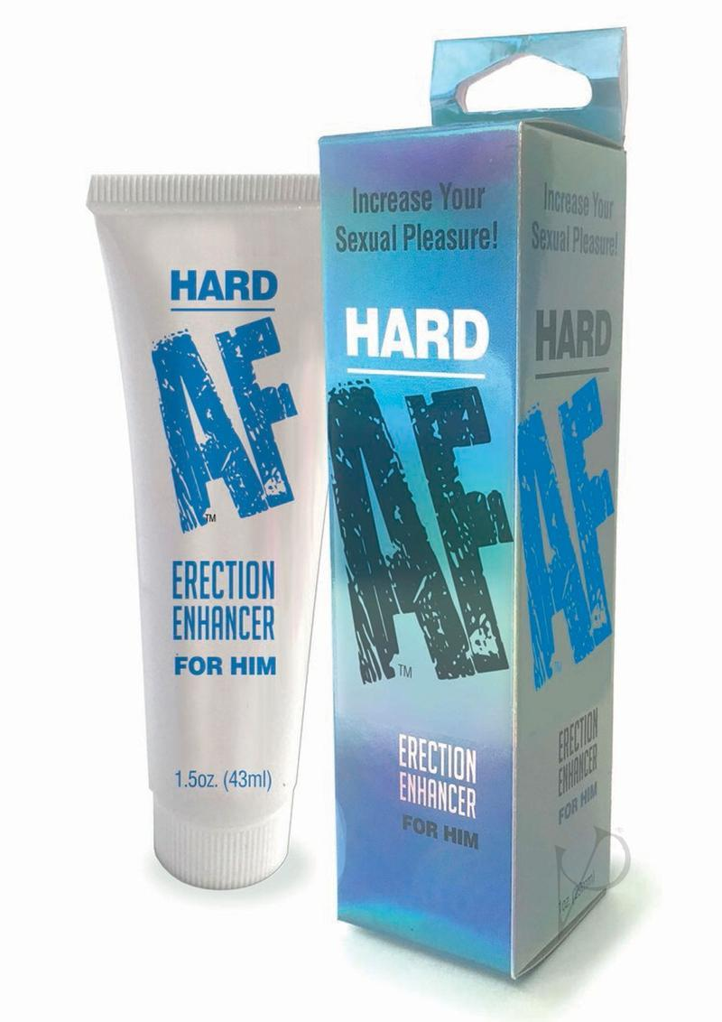 Hard Af Erection Enhancer Cream For Him 1.5 Ounce Tube