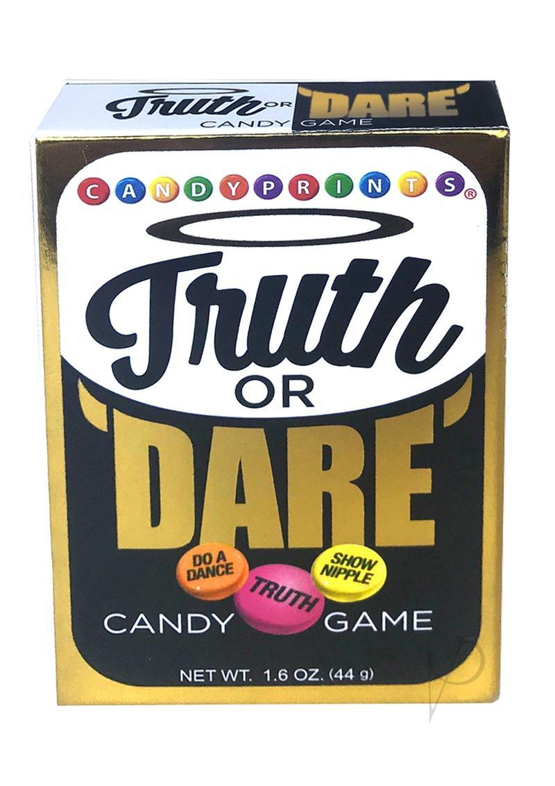 Candy Prints Truth Or Dare Candy Game Single Box 1.6oz