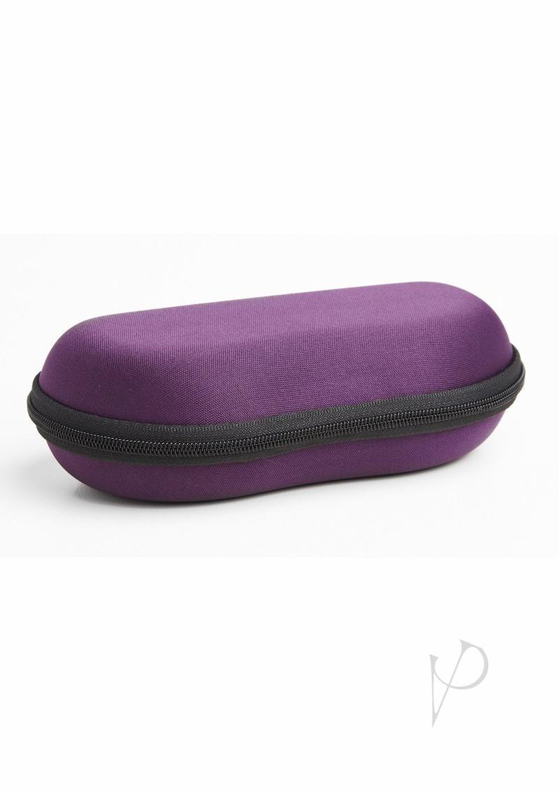 Emojibator Go F Yourself Literally Travel Case - Purple